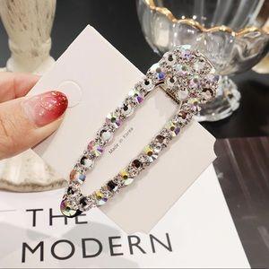 Elegant Rhinestone Hair Clip